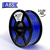 ABS Filament, 3D Hero ABS Filament 1.75mm,ABS 3D Printer Filament, Dimensional Accuracy +/- 0.02 mm, 2 KGS,1.76mm Filament,Black & White
