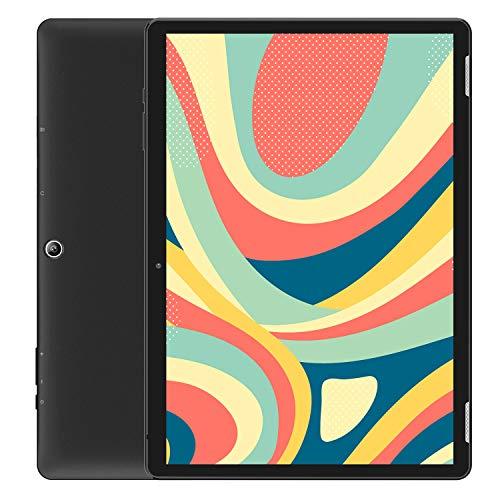 HAOQIN H10タブレット10.1インチAndroid 9.0 WiFi - 2GB/32GB 6000mAh 800x1280 IPS液晶Bluetooth4.0日本語仕様書付き/黒