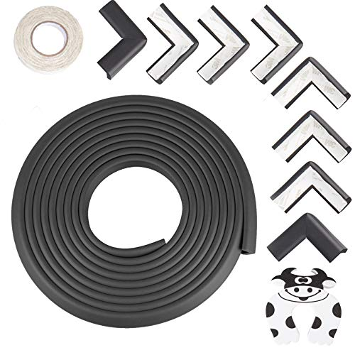 - Baby Proofing Edge & Corner Guards: 10 Piece Furniture Safety Set, Black