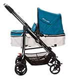 2018 Ella Baby Versa Luxury All in 1 Infant Baby Stroller Toddler Pushchair Baby Pram with Carriage Bassinet and Stair Climbing Combo