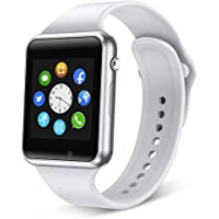 321OU Reloj inteligente compatible con Android, iOS, iPhone, Samsung, LG, pantalla táctil, Bluetooth, Android, reloj de…