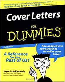 Cover Letters For Dummies: Joyce Lain Kennedy: 9780764552243 ...