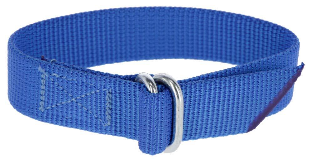 30cm L/änge Kerbl 20103 Fesselband f/ür Fu/ßbandnummern Blau 30mm Breite
