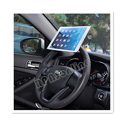 ATJC Dedicated 360 degrees rotation Steering Wheel car mount clamp holder for Apple iPad Air 2