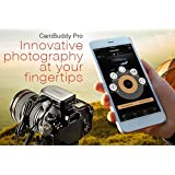 Cambuddy Pro (Silver):Do-It-All DSLR Smart Controller- Wireless Capture and Transmit; Sound, Lightning and Laser Trigger enab