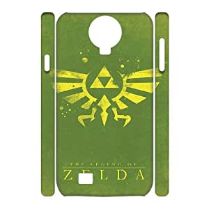 ZK-SXH - The Legend Of Zelda Diy 3D Cell Phone Case for SamSung Galaxy S4 I9500,The Legend Of Zelda Personalized 3D Cover Case