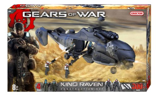 Erector Gears of War King Raven Construction (Erector Helicopter)