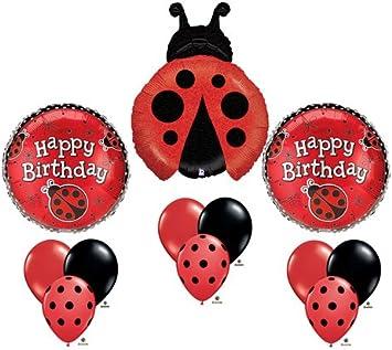 Amazon.com: catarina feliz cumpleaños globo Ramo Juego para ...