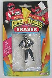 Mighty Morphin Power Rangers Eraser Black Ranger