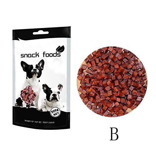 500g Pet Snacks Chicken/Beef Flavor Dog Treats Beef Grain/Chicken Grain Pet Dog Snack Dog Training Treats Food GLS5943,B ()