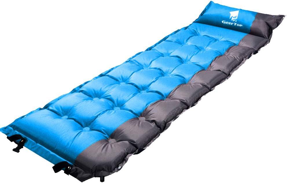 GEERTOP Esterillas Auto-inflables Colchoneta Automático Portátil Ligero 5cm de Grosor para Dormir de Acampada Senderismo Camping al Aire Libre