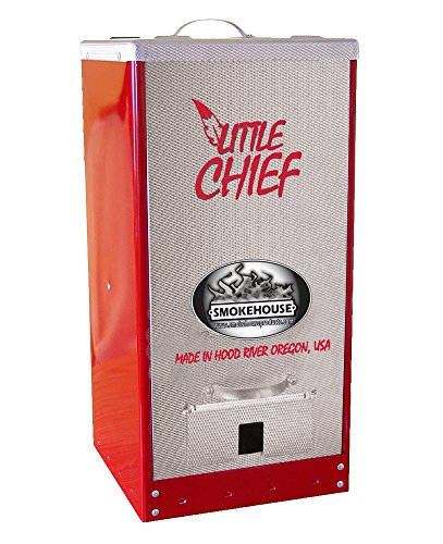 Smokehouse Products Little Chief Red Powder Coated Front Load (Front Load Smoker)