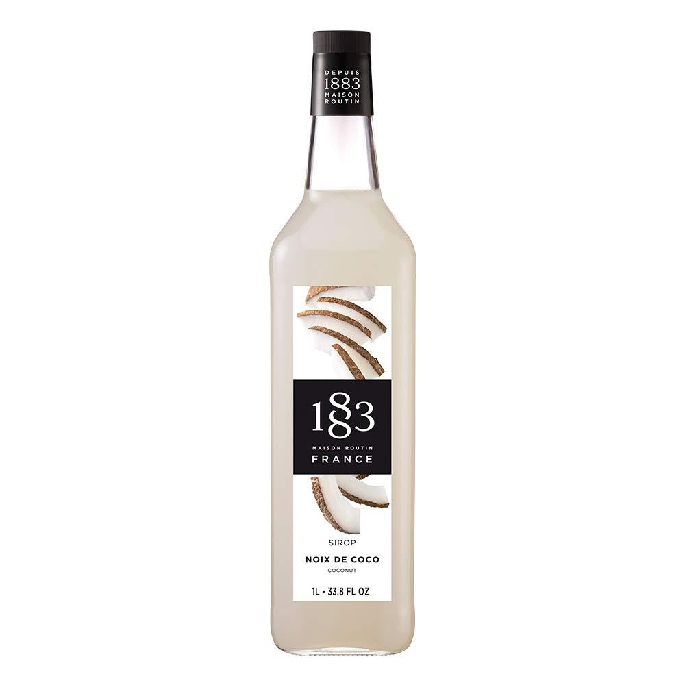 Coffee // Cocktail Syrup 1883 Maison Routin 1Litre Coconut Flavour