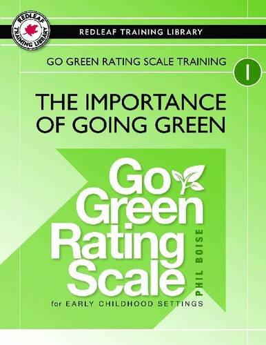 Go Green Rating Scale (Go Green Rating Scale Training: The Importance of Going Green)