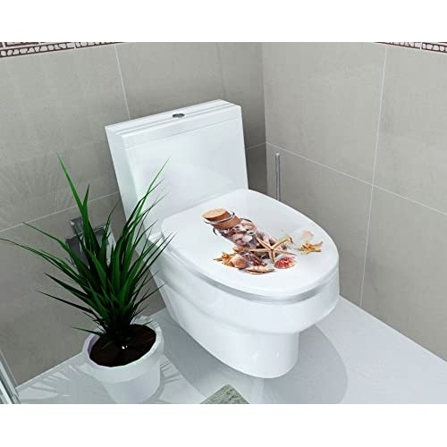50%OFF Cutelyn Home Decor Toilet Seat Cover Decor Sticker Gift (TL5)