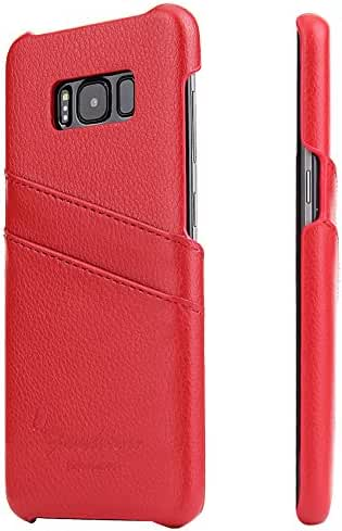 Samsung Galaxy Wallet Phone Case, Slim Leather Back Case With Credit Card Holder