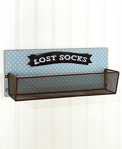 The Lakeside Collection Lost Socks Wall Basket