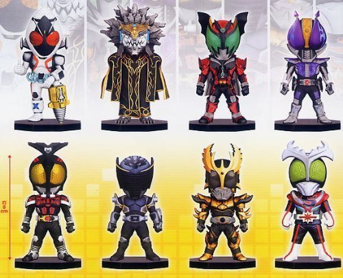Kamen Rider Series: World Collectable Figure Vol.9 (Set of 8)