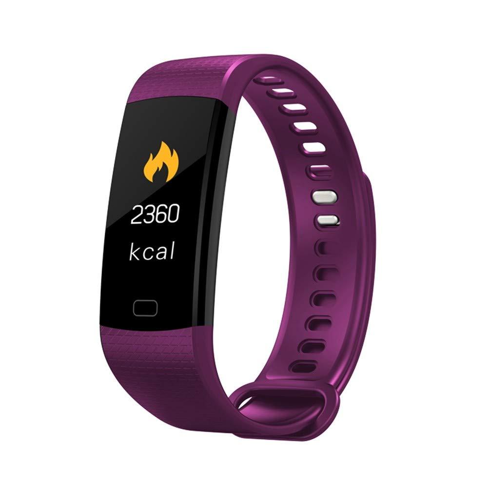 GBVFCDRT Smartwatch Elektronische Smart Watch Frauen Männer Laufen Radfahren Klettern Sportuhr Gesundheit Pedometer LED Farbdisplay