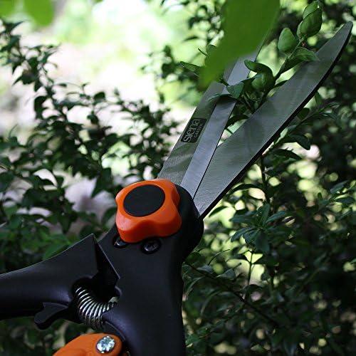 Siena Garden Buchsbaumschere ProfiLine Carbonstahl-Klinge dunkelgrün/schwarz