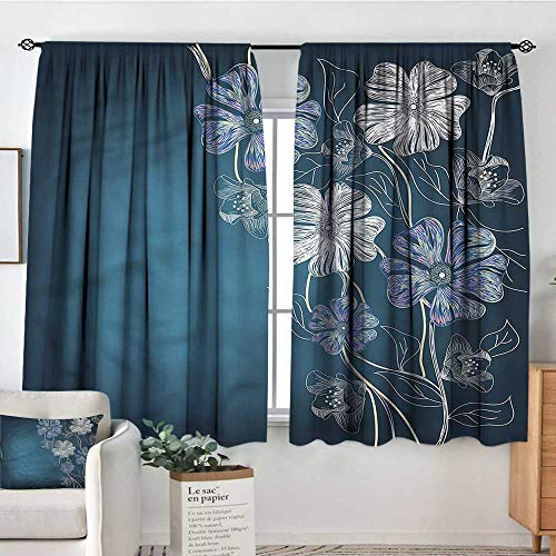 - RenteriaDecor Art,Nursery/Baby Care Curtains Cherry Blossom Bridal Theme 42