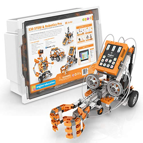 Engino - Classroom & Makerspace Solutions | Middle School Stem & Robotics Pro | Coding - Learning & Building Activities (Interactive Curriculum of 32 Lesson Plans)