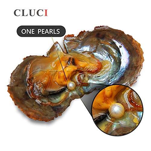 6-7mm Round Akoya Cultured Pearl Oyster 50pcs (White, Pink, Purple,Dyed Black) by NY Jewelry (Image #2)