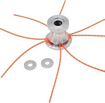 Rasentrimmer Trimmerkopf Mähkopf Kopf für Trimmer Freischneider Elektrowerkzeug