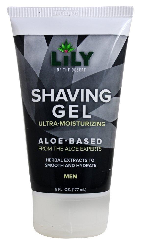 Lily Of The Desert Shaving Gel for Men, 6 Fluid Ounce