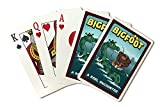 Bigfoot Catches Loch Ness Monster (Playing Card Deck - 52 Card Poker Size with Jokers)