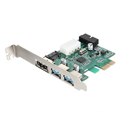wildlead 2 puertos USB 3.0 Super superrápidos PCI-E tarjeta ...