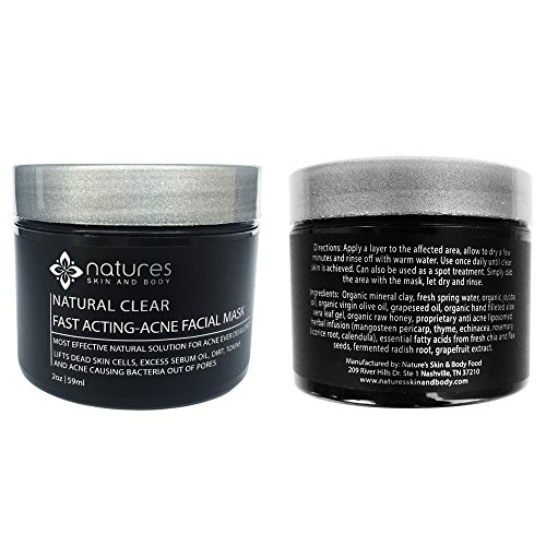 Mud mask for pores