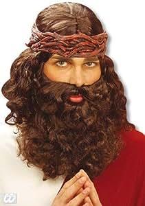 Mens Wig Jesus with Beard (peluca)