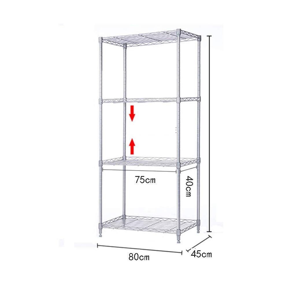 HUO 8045CM Kitchen Rack Floor Shelf Rack (Size : 120C) by Kitchen shelf (Image #4)