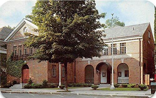 (National Baseball Museum and Hall of Fame Cooperstown, New York, NY, USA Old Vintage Baseball Postcard Post Card)