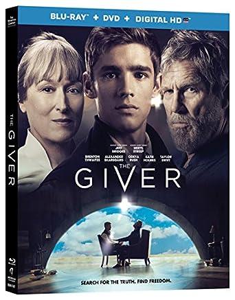 Amazon com: The Giver (Blu-ray + DVD + Digital HD): Jeff