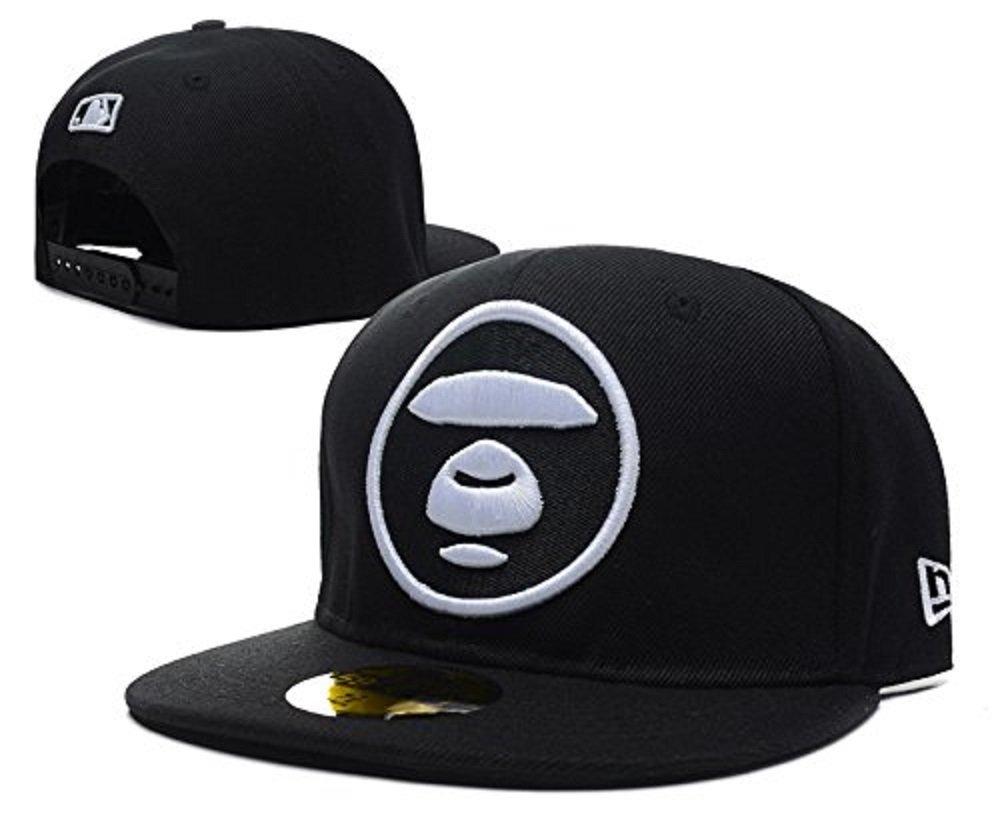 91461164f15 AAPE BY A BATHING APE Aape Bape Snapback adjustable cap hats 8  Amazon.co.uk   Sports   Outdoors