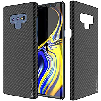 best loved 3c91e fdfe7 Galaxy Note 9 Case, Punkcase CarbonShield, Heavy Duty & Ultra Thin 2 Piece  Dual Layer PU Leather Cover [Shockproof][Non Slip] with PUNKSHIELD Screen  ...
