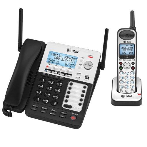 AT&T SYNJ SB67138 BLACK - DECT 6.0 4-LINE EXP/TAD (SB67138)