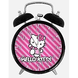 New Hello Kitty Alarm Desk Clock 3.75 Room Decor W23 Will Be a Nice Gift