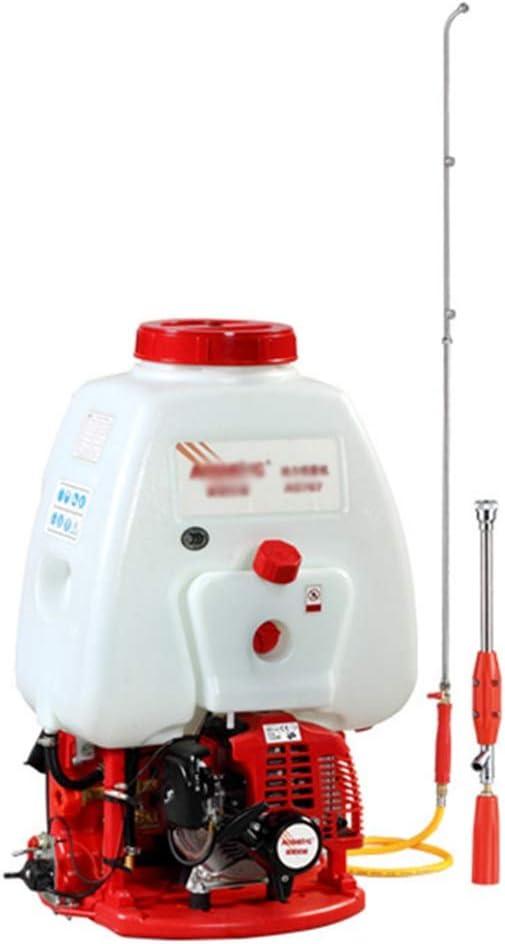 ASDFGHT Pulverizador de Mochila de 25 litros Pulverizador de Motor de Gasolina de 2 Tiempos / 26cc / para Campos de Cultivo/jardín/huertos (Size : 25Litre)