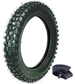Amazon com: 110cc Dirt Pit Bike Rear Wheel Tire Inner Tube