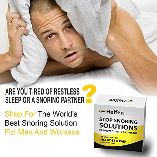 Anti Snoring Devices - Snoring Solution - Snore Stopper Set - Anti Snoring Solutions - 8 Anti Snoring Nose Vents - Anti Snoring Device- Snoring Stopper Nasal Dilators (Clear) by Helfen (Image #6)