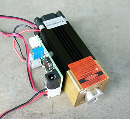 12V High Power Adjustable Orange Red Dot Laser Module 635nm 638nm 1W 1000mw / Long Time Working by sunshine-electronics