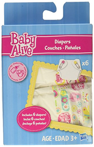 baby alive doll diapers and food - 2