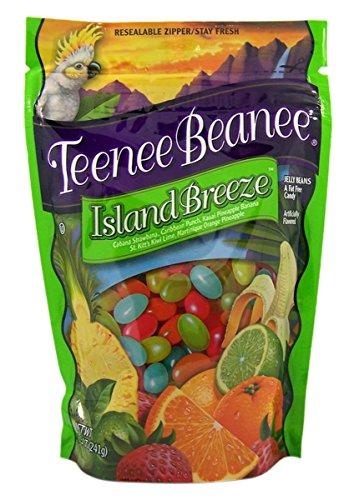 Teenee Beanee Island Breeze Jelly Beans in Resealable Bag, 8