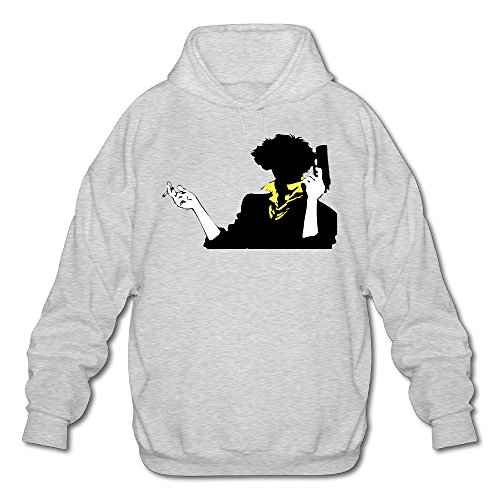 [PHOEB Mens Sportswear Drawstring Hoodie Sweatshirt,anime TV Series Ash Medium] (Courtney Love Costume)