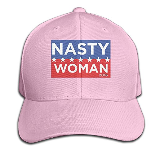Cool Unisex Im A Nasty Woman Baseball Caps Hip Hop Hat Fashion Pink