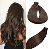 Cheap SeaShine Tape in Hair Extensions #2 Dark Brown 100% Remy Human Hair Extensions Silky Straight for Fashion Women 20 Pcs/Package(16Inch #2 30g)