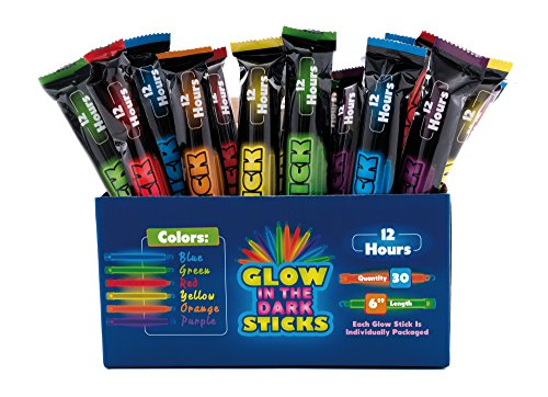 Giraffe - Glow In The Dark Sticks - (30 Count)
